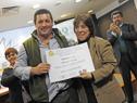 Galardonados de la edición uruguaya del Premio Óscar Arnulfo Romero