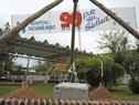 Acto de enterramiento de placa conmemorativa por los 90 Años del Hospital Tacuarembó