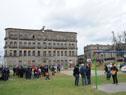 Inauguración de obras en la ex plaza de deportes n.° 1