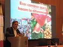 Director ejecutivo de la Comisión Honoraria para la Salud Cardiovascular, Mario Zelarayán, haciendo uso de la palabra