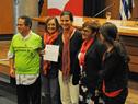 Reconocimiento recibido por grupos organizados de actividades por la salud cardiovascular