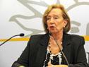 Ministra de Educación y Cultura, María Julía Muñoz