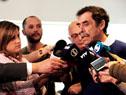 Director del Plan Ceibal, Miguel Brechner, dialoga con la prensa