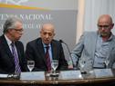 Presidente del Comité Olímpico Uruguayo, Julio César Maglione, haciendo uso de la palabra