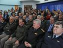 Autoridades asistentes a la ceremonia