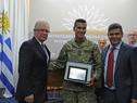 Andrés Zamora recibe su reconocimiento