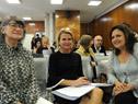 Liria Ortiz, Asa Regnér y Karina Ruiz