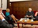 Audiencia entre el ministro Eduardo Bonomi y la ministra de Infancia, Tercera Edad e Igualdad de Género de Suecia, Âsa Regnér