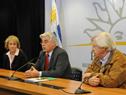 Ministro Tabaré Aguerre, haciendo uso de la palabra