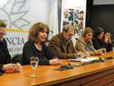 Directora del Instituto Nacional de las Mujeres, Mariela Mazotti, haciendo uso de la palabra