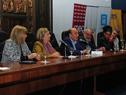 Intendente de Montevideo, Daniel Martínez, dirigiéndose a los presentes