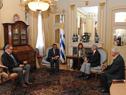 Reunión entre Presidente Tabaré Vázquez y  director de OMS, Tedros Adhanom Ghebreyesus