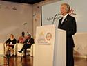 Presidente Vazquez se dirige a los presentes en la Conferencia Mundial sobre Enfermedades No Transmisibles