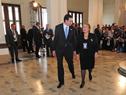 Llegada de Presidenta de Chile, Michelle Bachelet