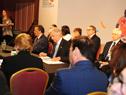 Presidente Vázquez durante la Conferencia
