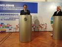 Presidente Tabaré Vázquez y director general de la OMS, Tedros Adhanom Ghebreyesus