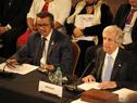 Presidente Tabaré Vázquez hace uso de la palabra en Conferencia Mundial sobre Enfermedades No Transmisibles
