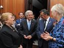 Presidente Vázquez encabezó cena de honor