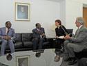 Presidente Tabaré Vázquez se reunió con su par de Zimbabue, Robert Mugabe