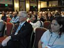 Ministro de Salud Pública, Jorge Basso, entre los asistentes al panel de especialistas