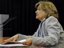 Ministra de Vivienda, Eneida de León, tras el Consejo de Ministros