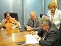 Firma de acuerdo entre la Oficina Nacional de Servicio Civil con la Junta de Transparencia y Ética Pública