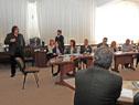 Víctor Rossi y Alberto Díaz participaron del primer taller Glosario sobre Servicios Portuarios