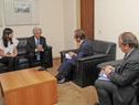 Reunión entre Tabaré Vázquez y Zeid Ra'ad al Hussein
