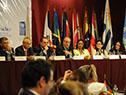 Murro y Ferreri en la segunda reunión de la Conferencia Regional sobre Desarrollo Social de América Latina y el Caribe