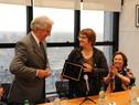 Presidente Tabaré Vázquez recibe reconocimiento