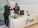 Presidente Tabaré Vázquez y fiscal Jorge Díaz