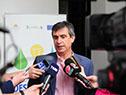 Álvaro García, en declaraciones a la prensa