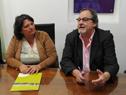 Presidente del Instituto Nacional del Cooperativismo, Gustavo Bernini, haciendo uso de la palabra