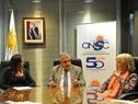 Director de la Oficina Nacional del Servicio Civil, Alberto Scavarelli, haciendo uso de la palabra