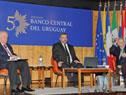 Enrique Iglesias, Mario Bergara y Ricardo Pascale