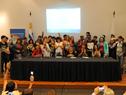 Jóvenes participantes de la actividad