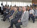 Danilo Astori en un encuentro con empresarios organizado por la Cámara Uruguayo-Alemana
