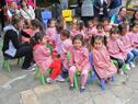 Niños en el acto de inauguración