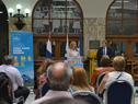 Ministra Carolina Cosse, haciendo uso de la palabra