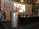Presidente Vázquez, haciendo uso de la palabra