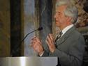 Llegada del presidente Tabaré Vázquez al Palacio Legislativo