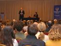 Antonio Carámbula, director ejecutivo de Uruguay XXI, haciendo uso de la palabra