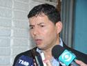 Director del Inefop, Eduardo Pereyra, dialoga con la prensa