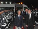 El presidente Tabaré Vázquez es recibido por el subsecretario para América Latina y el Caribe de México, Luis Alfonso de Alba