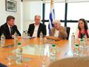 Topolansky recibió a director general de la Organización Internacional del Trabajo, Guy Ryder