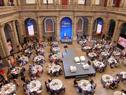 Presidente Tabaré Vázquez habla en la conferencia sobre el cáncer, en México