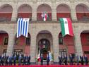 Recepción en el Palacio Nacional de México. (Fotografía: Presidencia de México)