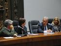 Subsecretario de Salud Pública, Jorge Quian, haciendo uso de la palabra