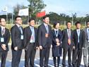 Arribo de integrante de delegación china