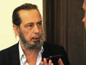 Titular de ANP, Alberto Díaz, realizando declaraciones a la prensa